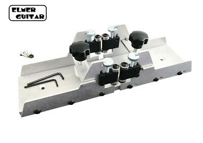 Fret Slotting Miter Box With Clamps - Cut Fret Slots Smoothly & Efficiently