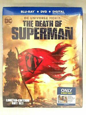 DC Universe Movie The Death of Superman Blu-ray & DVD + Digital Limited Edition