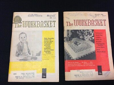 Workbasket Magazines - Back issues - MARCH & NOVEMBER 1960
