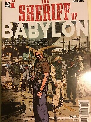 Sheriff of Babylon #1-12 Tom King Mitch Gerads Vertigo Comics 1st Printings NM