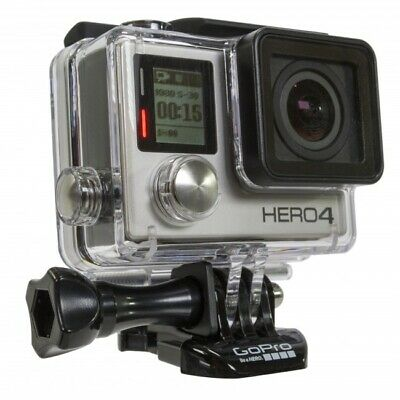 GOPRO HERO 4 BLACK 4k HD Action Camera GPS WiFi Video Photo Camcorder 12MP rfrb