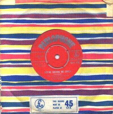 "Temperance Seven You're Driving Me Crazy UK 7"" vinyl single record 45-R4757"