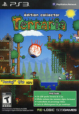 Terraria Collector Edition (French Package, Game Playable In Engl (Playstation3)