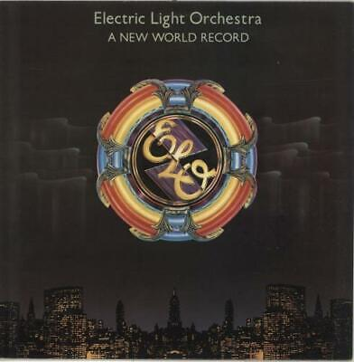 A New World Record - 2nd Electric Light Orchestra vinyl LP album record UK