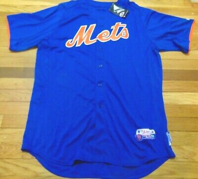 636991bd4 Majestic Mlb Authentic New York Mets Cool Base Batting Practice Jersey Size  48