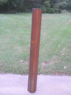Antique Oak Fluted Column-Architectural Salvage-Repurpose-Use for Many Purposes
