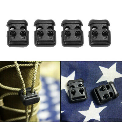 10pcs Shoe Lace Shoelace Buckle Rope Clamp Cord Lock Stopper Running Supplies JB