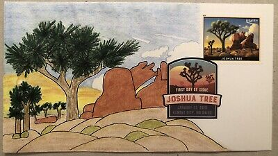 Joshua Tree 2019 FDC DCP Cancel Sc#5347 Priority Mail $7.35 Hand Drawn Cachet /1