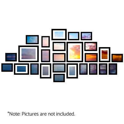 A3/11/17/20/23/26/30 Picture Photo Frame Wall Set Home Decor Art Gift Present