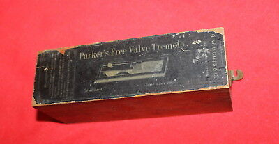 Antique 1876 Parker's Free Valve Tremolo Organ Part?