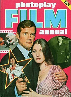 Photoplay Film Annual 1974 Hardback Book The Cheap Fast Free Post