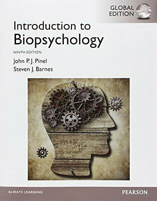 Introduction to Biopsychology, Global Edition by Pinel, John P.J. Book The Cheap