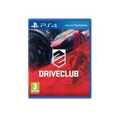 Drive Club (PS4) - Game  WSVG The Cheap Fast Free Post