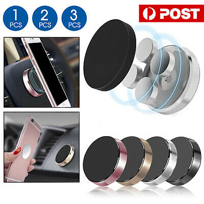 2X Universal Magnetic Magnet Car Phone Holder Mount Stand GPS PDA iPhone Samsung