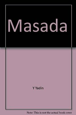 Masada by Y Yadin Paperback Book The Fast Free Shipping