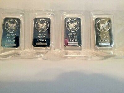 Sunshine Mint 1 Troy Ounce .999 Silver Bar with Hidden Security Mint Mark