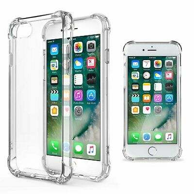 Moozy Coque Silicone Transparente Pour Iphone 5S / Iphone Se - Anti Choc Crystal