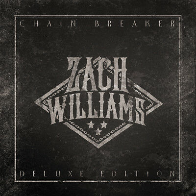 Zach Williams - Chain Breaker •Deluxe Edition• CD 2017 Essential Records • NEW •