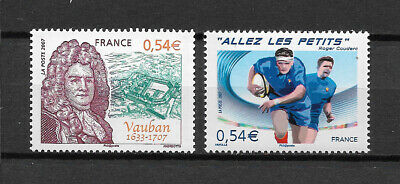 FRANCE - 2007 YT 4031 à 4032 - TIMBRES NEUFS** MNH LUXE
