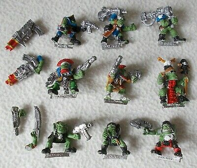 GW Citadel Warhammer Rogue Trader Era 40K Space Ork Boyz Boy 7 Metal Épuisé