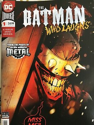 The Batman Who Laughs #1 Scott Snyder Jock 1st printing DC comics NM