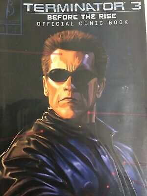 Terminator 3 before the rise, eyes of the rise 1,2,3,4 1st printings NM Beckett
