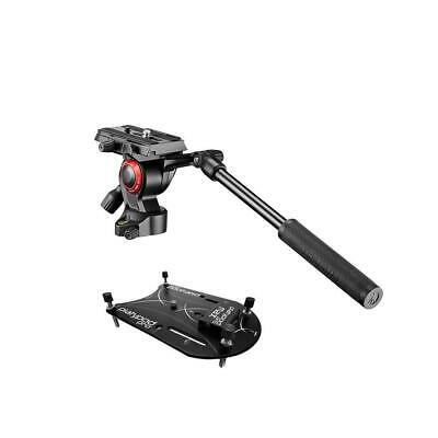Platypod Max Plate Camera Support - With Manfrotto Befree Live Video Head #1009I