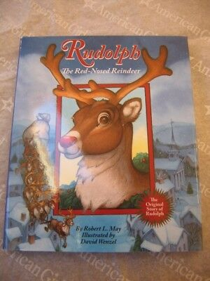 "18"" American Girl Doll RUDOLPH RED NOSED REINDEER BOOK CHRISTMAS Doll Size NEW"