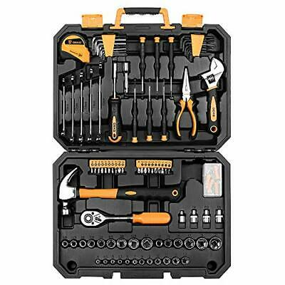 Professional Tool Kit for Mechanical Repair.with Box 128 Pieces