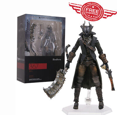 Figma 367 Bloodborne Hunter Action Figure Collection Toy Gift 15cm New in Box