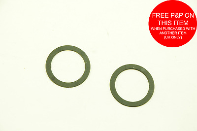 2 x SRAM /& OTHER BRANDS OF ROTARY BIKE GRIP SHIFTERS 22.2mm SPACER WASHERS TO MAKE CHANGING GEAR EASIER