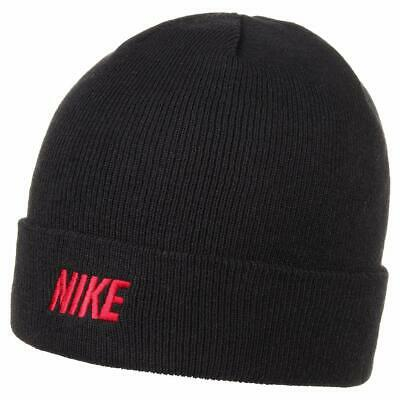 cdc1d03d73f Unisex Men`s Nike Iconic Beanie Wooly Warm Winter Ski Knitted Comfortable  Hat