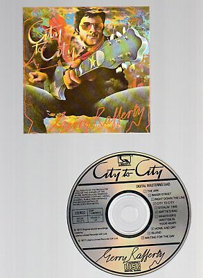 Gerry Rafferty - City To City (Liberty-United Records CDP7 46049 2) (1984)