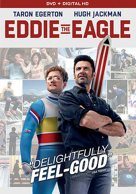 Eddie the Eagle (DVD,2016)