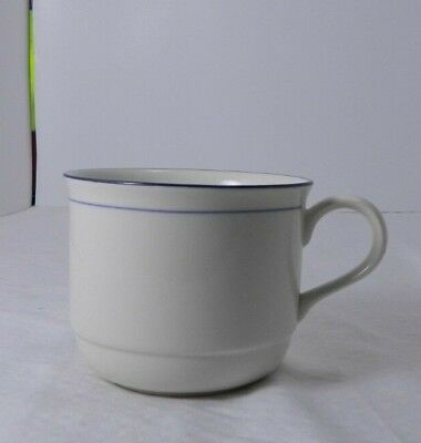 Lenox Chinastone Cup Blue Pinstripes  Mint Condition