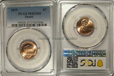 2019 P Lincoln SHIELD Cent 1c PCGS MS67RD