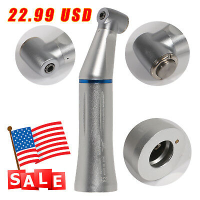 yabangbang Dental Slow Low Speed Contra Angle Inner Water Push Button Handpiece