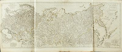 D'Anville Rob. Sayer Whole Russian empire Large Map 1772 : incl. Alaska