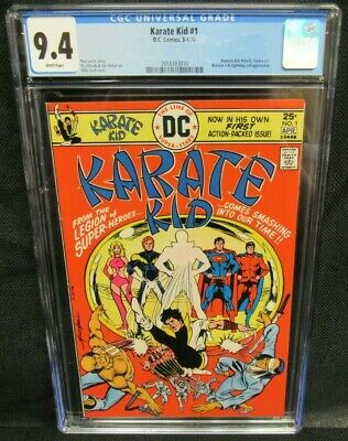 Karate Kid #1 (1976) DC Bronze Age 1st Issue CGC 9.4 White Pages S554