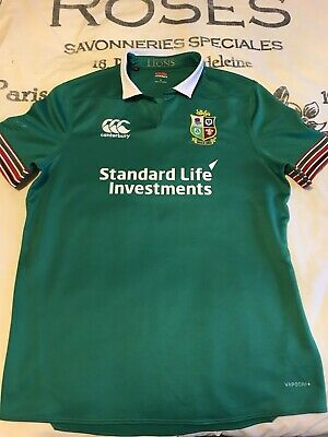 cee3ba0481a Canterbury British And Irish Lions New Zealand Tour 2017 Rugby Shirt Size L