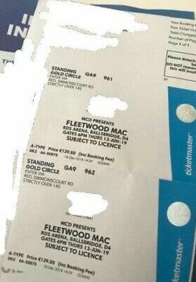 Fleetwood Mac tickets Dublin
