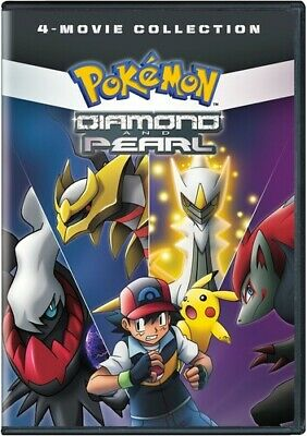 Pokemon Diamond And Pearl Movie Collection Standard [New DVD] Black, 2 Pack