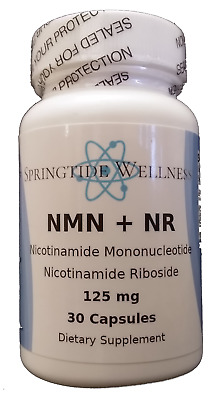 PURE LIFE NMN + NR Supplement Nicotinamide Mononucleotide