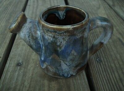 Hermitage Pottery Mini Marble Watering Can HD117 Exc. Condition