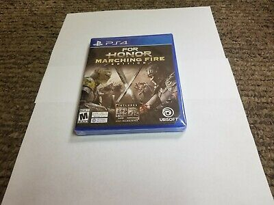 For Honor Marching Fire Edition (PlayStation 4, 2018) new ps4