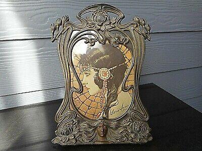 Wonderful Art Nouveau Female Photo Frame