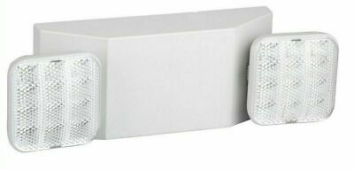 LED Emergency Exit Light,Dual Head Hardwired with Battery Back up Ultra Bright