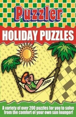 Puzzler Holiday Puzzles by Puzzler Media Paperback Book The Cheap Fast Free Post