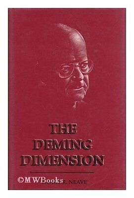 Deming Dimension by Neave Hardback Book The Cheap Fast Free Post