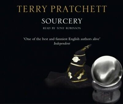Sourcery (Discworld) - Terry Pratchett CD 69VG The Cheap Fast Free Post The